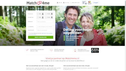 match4me inloggen